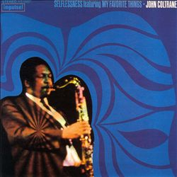 John Coltrane - Selflessness CD (album) cover