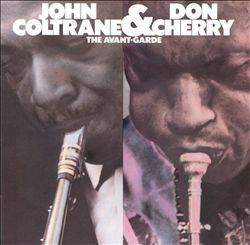 John Coltrane - The Avant-garde CD (album) cover