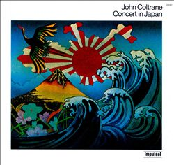 John Coltrane - Concert In Japan [1973] CD (album) cover