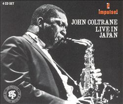 John Coltrane - Live In Japan [4cd] CD (album) cover