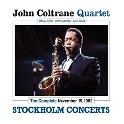John Coltrane - Complete Stockholm Concerts CD (album) cover
