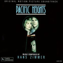 HANS ZIMMER - Pacific Heights CD album cover