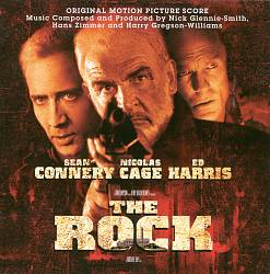 HANS ZIMMER - The Rock CD album cover