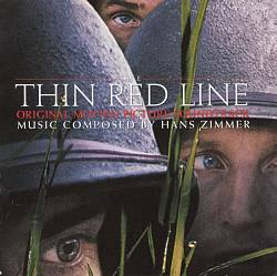 HANS ZIMMER - The Thin Red Line CD album cover