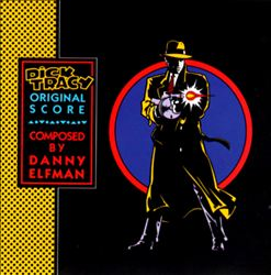 Danny Elfman - Dick Tracy CD (album) cover