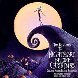 Danny Elfman - Tim Burton's The Nightmare Before Christmas CD (album) cover