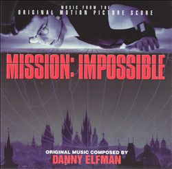 Danny Elfman - Mission Impossible CD (album) cover