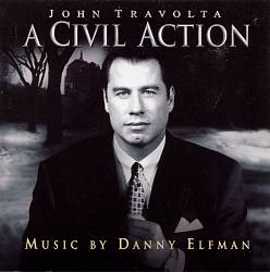 Danny Elfman A Civil Action CD album cover