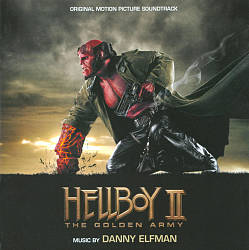 Danny Elfman - Hellboy Ii: The Golden Army CD (album) cover