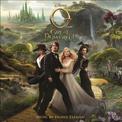 Danny Elfman - Oz The Great And Powerful CD (album) cover