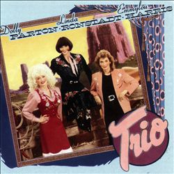 EMMYLOU HARRIS - Trio CD album cover
