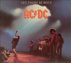 Ac/dc - Let There Be Rock CD (album) cover