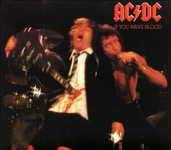 Ac/dc - If You Want Blood You've Got It CD (album) cover