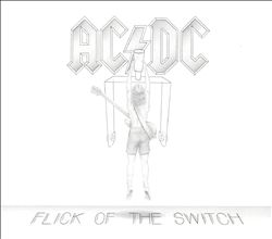 Ac/dc - Flick Of The Switch CD (album) cover