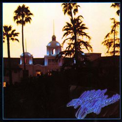 EAGLES - Hotel California CD album cover