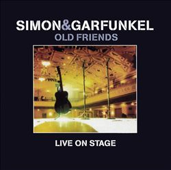 SIMON & GARFUNKEL - Old Friends: Live On Stage CD album cover