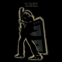 T. REX - Electric Warrior CD album cover