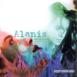 ALANIS MORISSETTE - Jagged Little Pill CD album cover