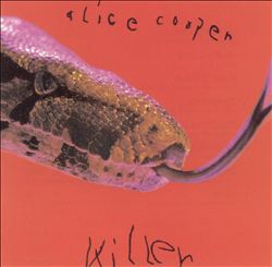 ALICE COOPER - Killer CD album cover