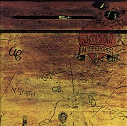 Alice Cooper - School's Out CD (album) cover