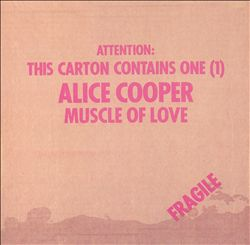 Alice Cooper - Muscle Of Love CD (album) cover