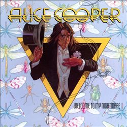 ALICE COOPER - Welcome To My Nightmare CD album cover