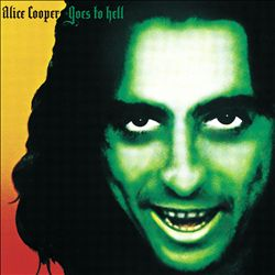 ALICE COOPER - Alice Cooper Goes To Hell CD album cover