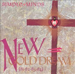 SIMPLE MINDS - New Gold Dream (81-82-83-84) CD album cover