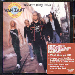 JOHNNY VAN ZANT - No More Dirty Deals CD album cover
