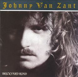 JOHNNY VAN ZANT - Brickyard Road CD album cover