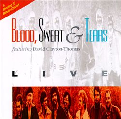 Sweat & Tears Blood - Live CD (album) cover