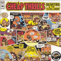 BIG BROTHER & THE HOLDING COMPANY - Cheap Thrills CD album cover