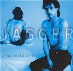 Mick Jagger - Wandering Spirit CD (album) cover