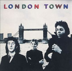 Paul Mccartney - London Town CD (album) cover