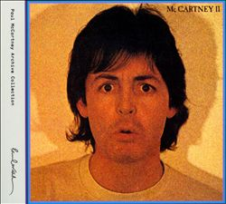Paul Mccartney - Mccartney Ii CD (album) cover