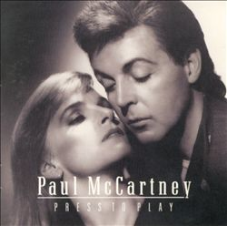 Paul Mccartney - Press To Play CD (album) cover
