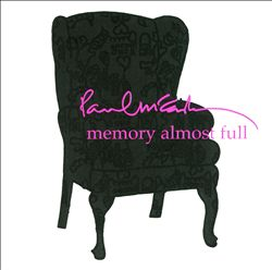 Paul Mccartney - Memory Almost Full CD (album) cover