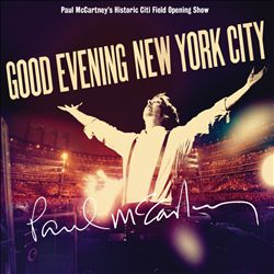 Paul Mccartney - Good Evening New York City CD (album) cover