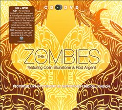 The Zombies - Recorded Live In Concert At Metropolis Studios, London CD (album) cover
