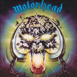 MOTÖRHEAD - Overkill CD album cover