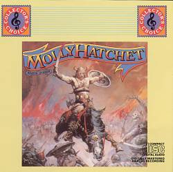 Molly Hatchet - Beatin' The Odds CD (album) cover