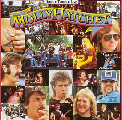 Molly Hatchet - Double Trouble Live CD (album) cover