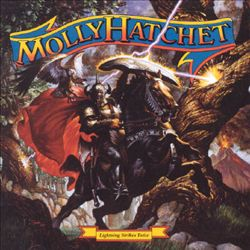 Molly Hatchet - Lightning Strikes Twice CD (album) cover
