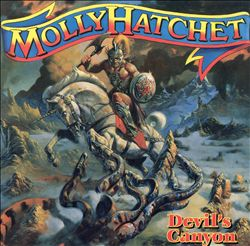 Molly Hatchet - Devil's Canyon CD (album) cover