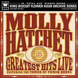 Molly Hatchet - Greatest Hits Live CD (album) cover