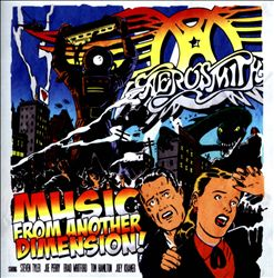 Aerosmith - Music From Another Dimension! CD (album) cover