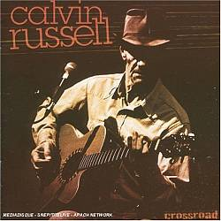 Calvin Russell - Crossroad: Unplugged Live CD (album) cover