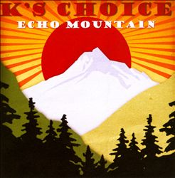 K's Choice - Echo Mountain CD (album) cover