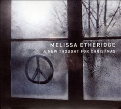 Melissa Etheridge - A New Thought For Christmas CD (album) cover