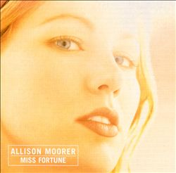ALLISON MOORER - Miss Fortune CD album cover